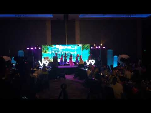 Hawaiian Show, A Vivo Media Launching Event @ City Of Dreams Manila #2018