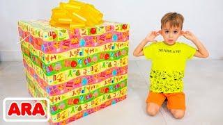فلاد ونيكيتا اختيار ألعاب هدية لروما