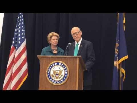 U.S. Senator Pat Roberts, R-KS, speaks in Frankenmuth