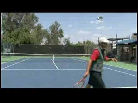Tennis Serve & Return Tips : American Twist Serve in Tennis