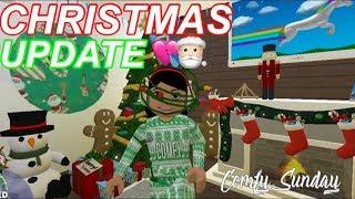 Roblox Bloxburg| Christmas UPDATE!!!