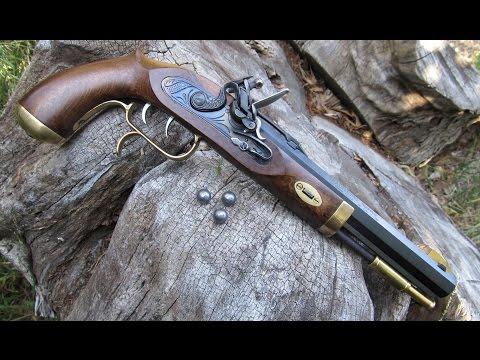 .50 Cal. Flintlock Pistol: Loading and Shooting