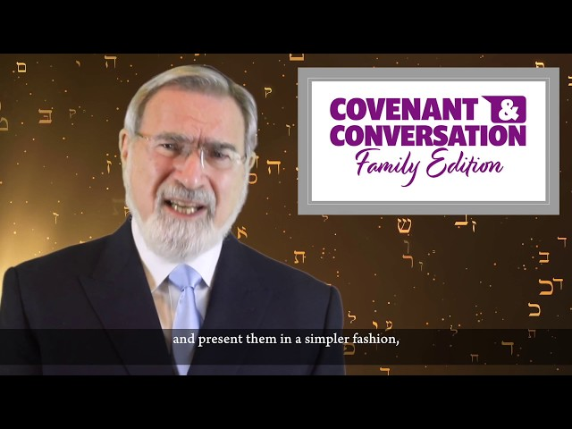 Introducing Covenant & Conversation: Family Edition