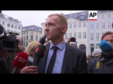 Prosecutor arrives for Copenhagen trial of man accused of killing Kim Wall