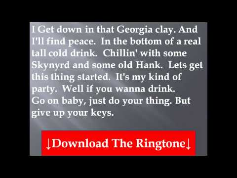 Jason Aldean-My Kinda Party Lyrics