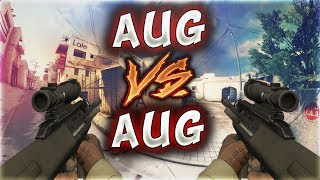 AUG VS AUG KOZLAR MERTCAN'IN ELİNDE (CS:GO)