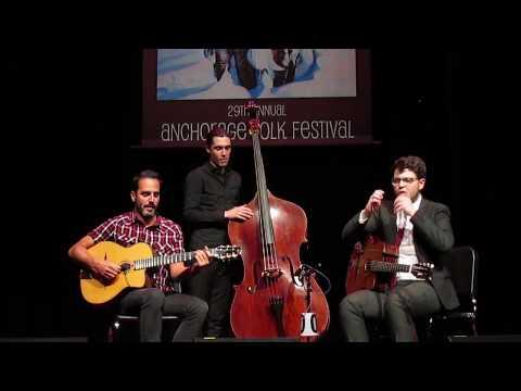 Gonzalo Bergara Quintet -anchorage folk festival