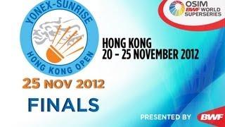 Finals - 2012 Yonex-Sunrise Hong Kong Open