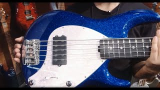 Ernie Ball Music Man: StingRay Special & StingRay5 Special Bass Live From NAMM 2020