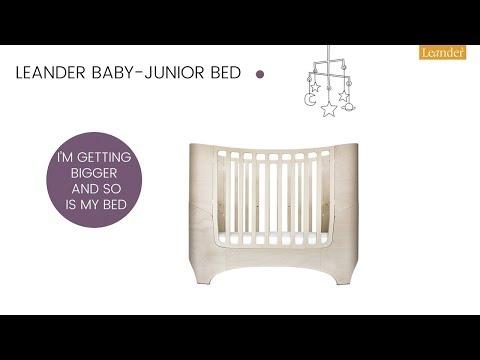 Original von Leander NEU Kinderbettwäsche 100x140 SOFORT !!! light grey