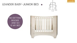 Leander - Baby- junior bed