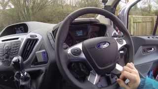 Review of Ford Custom Transit Van