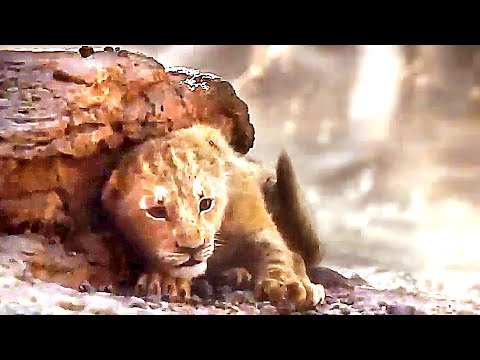 """THE LION KING """"Scared Simba Hides From The Herd"""" Trailer (2019)"""