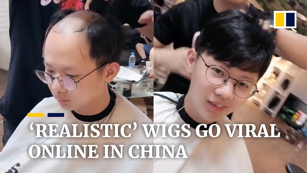 'Realistic' wigs for people who need hair help go viral online in China
