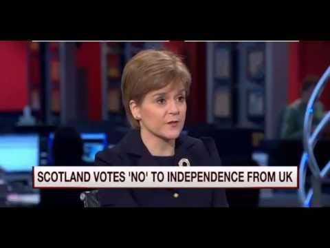 Nicola Sturgeon morning joe USA interview