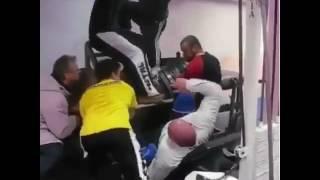 Accident Au Leg Press !