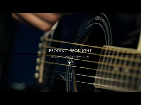 Product Spotlight Ibanez V70ce Acoustic Electric Guitar Youtube