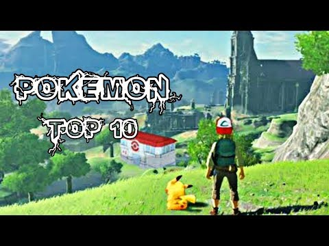 Top 10 Pokemon High Graphics Game For Android & Low Device 2019 - 동영상