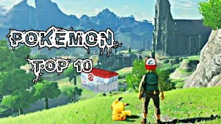 Top 10 Pokemon High Graphics Game For Android & Low Device 2019