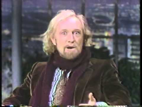 RICHARD HARRIS ON JOHNNY CARSON