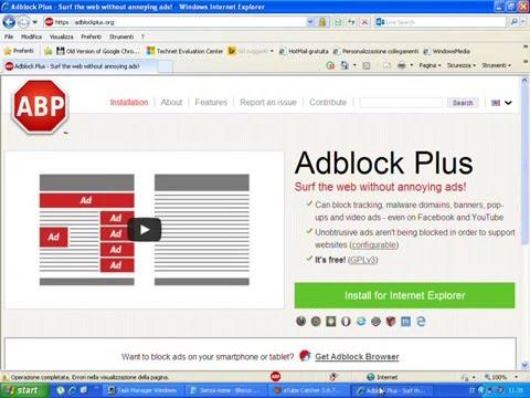 adblock per explorer