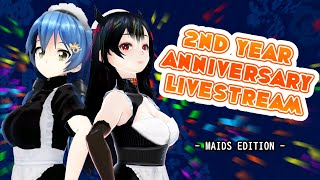 2nd year Anniversary - Come chat with us!! - Moe and Commy
