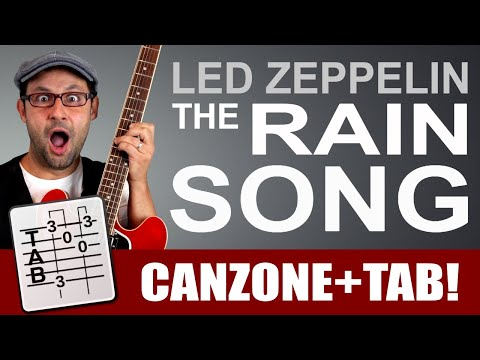 "Chitarre ""orchestrali"" - The Rain Song - Led Zeppelin - Tutorial"