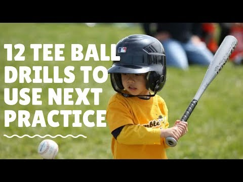 12 Tee Ball Practice Drills To Use Next Practice