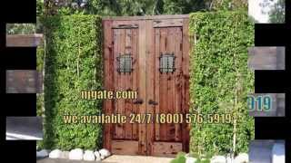 Nj Wood Gates. Call : (800) 576-5919 (jersey City,newark)