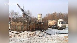 Мэр Казани посетил строительную площадку нового канализационного узла
