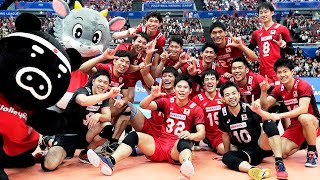 Japan National Volleyball Team | Unbelievable Moments | VNL 2018