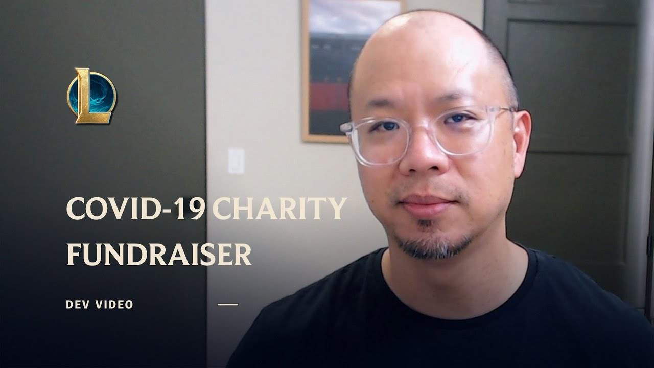 COVID-19 Charity Fundraiser Announcement - League of Legends