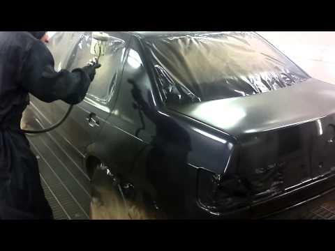 покраска автомобиля Volkswagen Vento