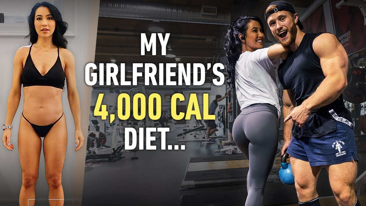 Why Is My Girlfriend Eating 4000 Calories A Day? | Couple's Leg Workout