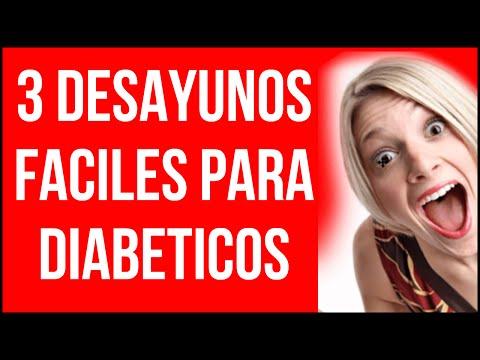 3 Desayunos Fáciles para los Diabeticos - 100% RECOMENDADOS!