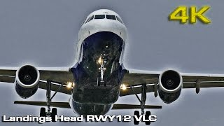 Landings Head RWY12 (VLC) [4K]