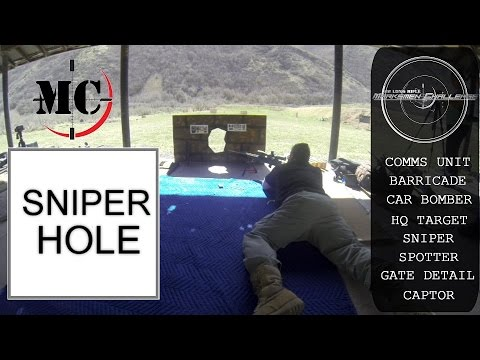 Precision Rimfire Competition - Sniper Hole Tactical Stage MARKSMEN CHALLENGE [March 2015]
