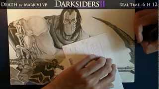 Darksiders II speed drawing / Mark VI vp