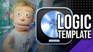 Reid Stefan Logic Template | Vocals, Beat, Mastering (Trailer)