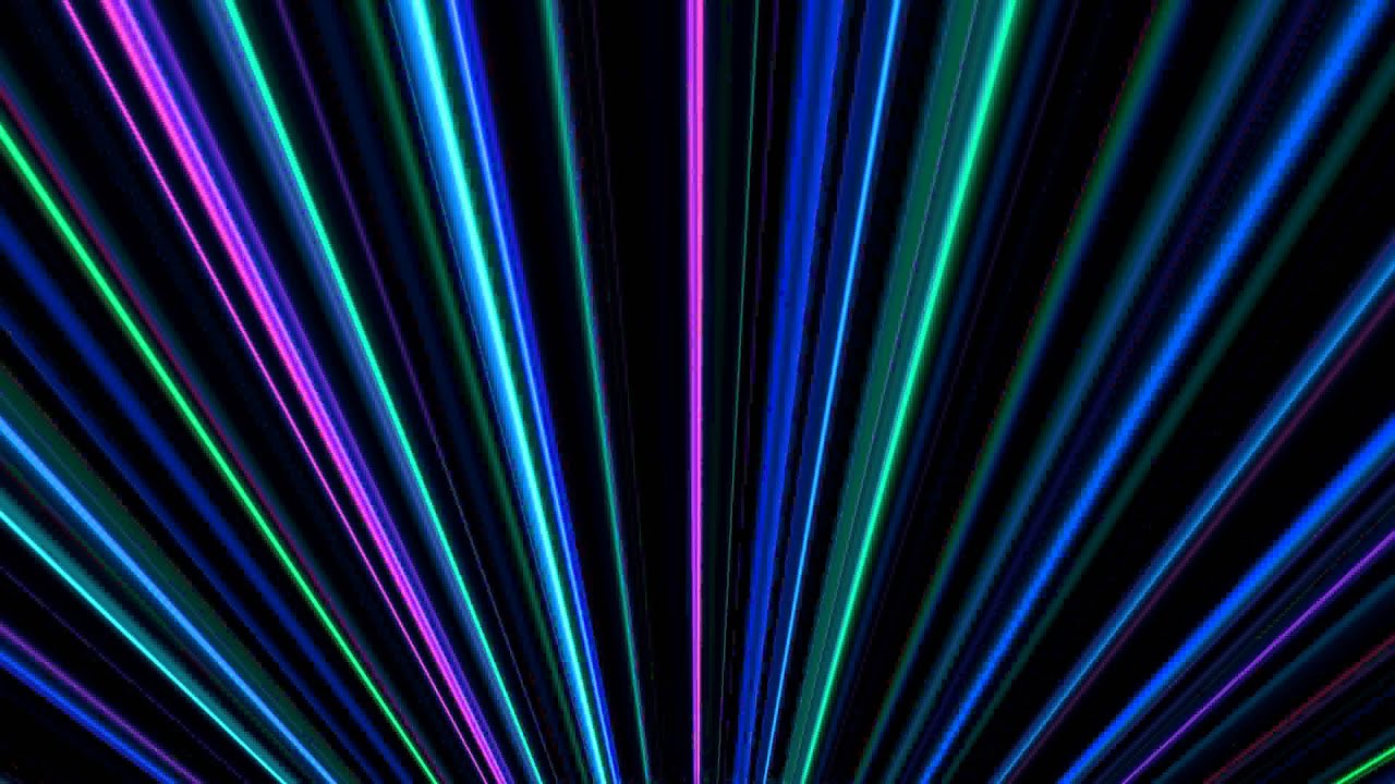Free Animated Wallpaper Backgrounds 4k Colorful Light Beams Youtube