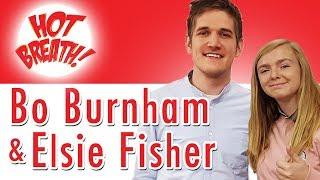 Bo Burnham & Elsie Fisher 🔥 Tips for Actors, Anxiety Help, BTS of Eighth Grade Movie + MORE