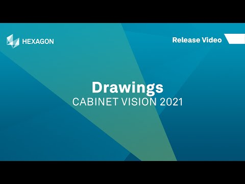 Drawings | CABINET VISION 2021