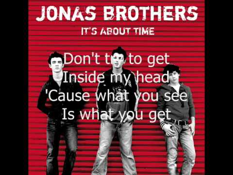 08. I Am What I Am (It's About Time) Jonas Brothers (HQ + LYRICS)