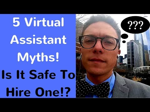 5 Myths About Virtual Assistants! Is it safe to hire one!?