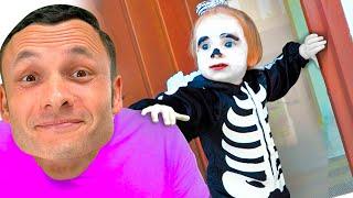 Детская песня на Хеллоуин - Песни для детей от Майи и Маши.