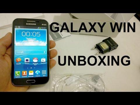 Samsung Galaxy Win Duos - O Que Vem na Caixa? [Unboxing Brasil]