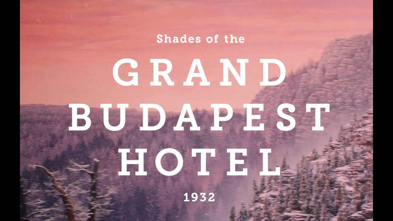 shades of the grand budapest hotel youtube. Black Bedroom Furniture Sets. Home Design Ideas