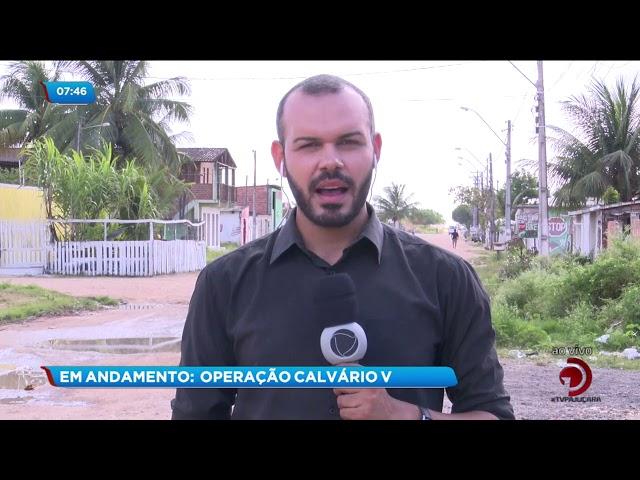 Operação do MP da Paraíba cumpre mandado de prisão em Alagoas