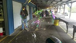 Bubble guy at the Gulf Breeze Flea Market