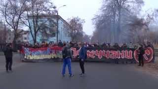 Путин х*йло в исполнении ультрас Александрии и Шахтера